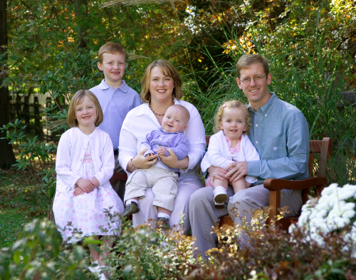 Lamb Family: Marty Lamb, Mary Lamb, and kids
